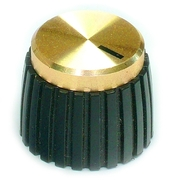 CHK Electronics Gold Small British Style Amplifier Knob